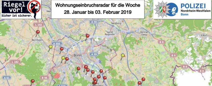 Einbruchsschutz in Bonn
